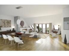 Attic Floor Conversion in South-After Berlin Prenzlauer Berg